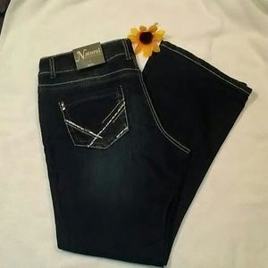 Natural Reflections Jeans NWT